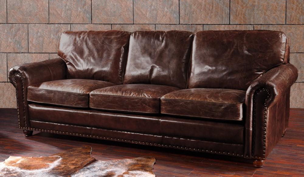Berkeley Vintage Leather   3 Seater Sofa
