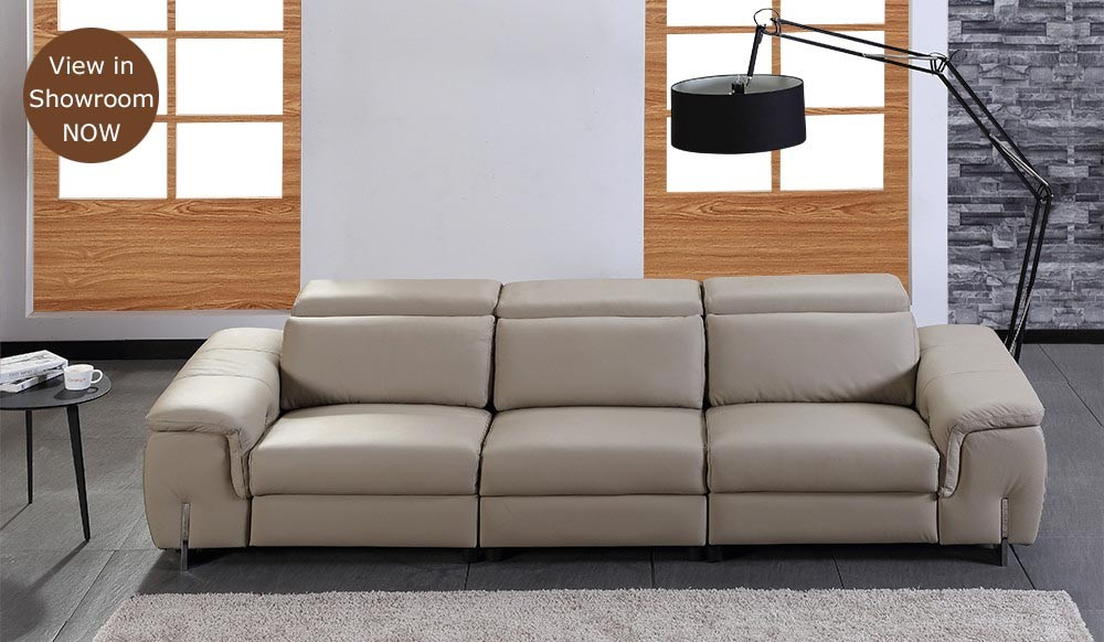 Monza Plus 4 Seater Electric Recliner Sofa