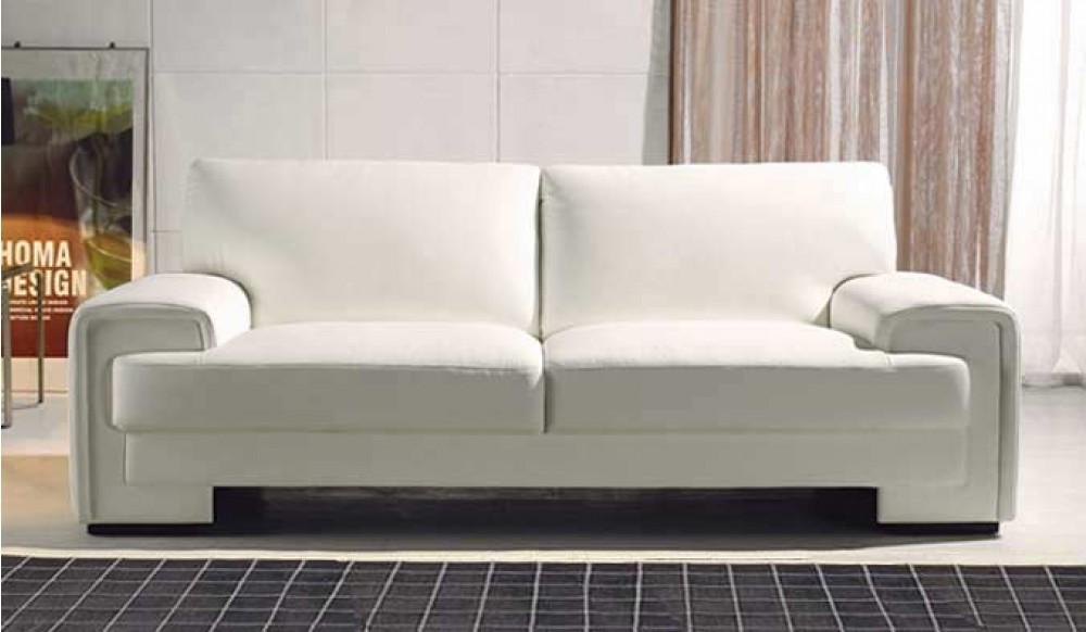 trantino modern leather sofa italian style delux deco