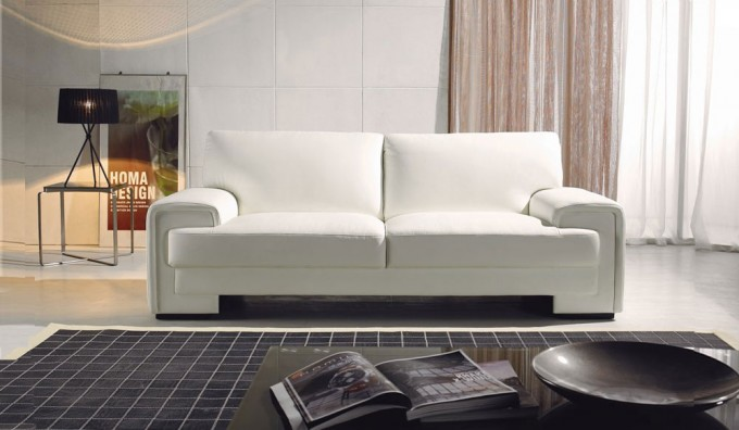 Trantino 2 Seater Leather Sofa