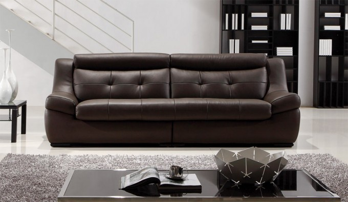Gallina 3 Seater Leather Sofa