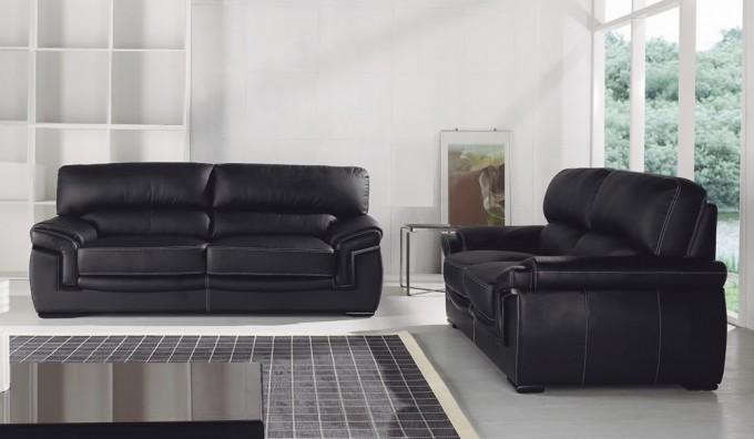 Bachelli 2 Seater Leather Sofa