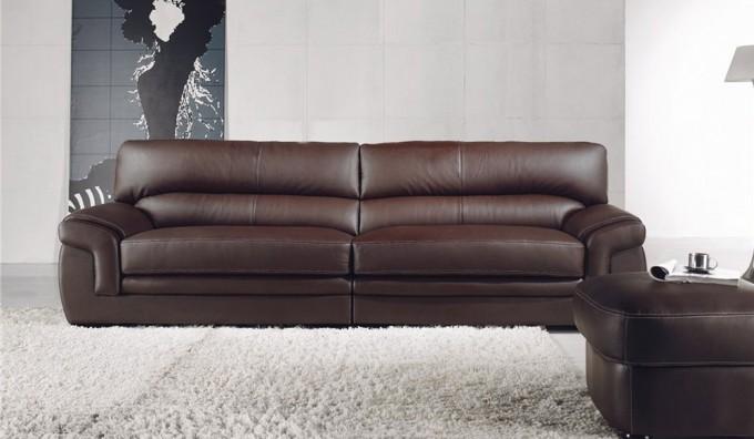 Bachelli 4 Seater Leather Sofa