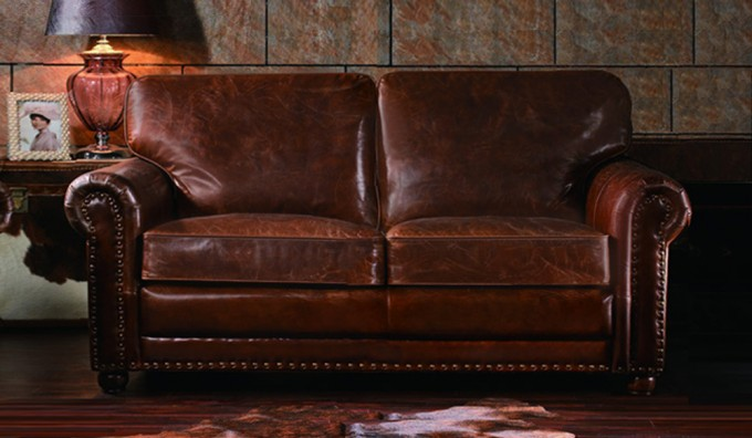 Berkeley Vintage Leather - 2 Seater Sofa