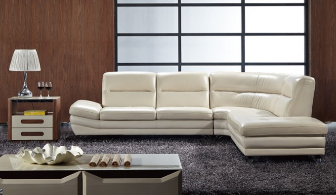 Carelli Leather Corner Sofa