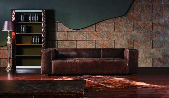 Fulham Vintage Leather - 3 Seater Sofa
