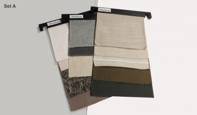 Khobus Fabric Samples - Set A