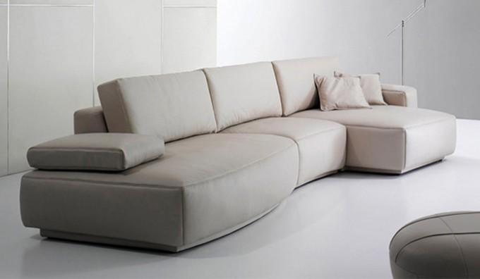 Orval Leather Modular Sofa
