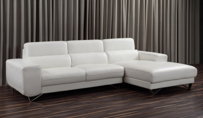 Pino Leather Corner Sofa