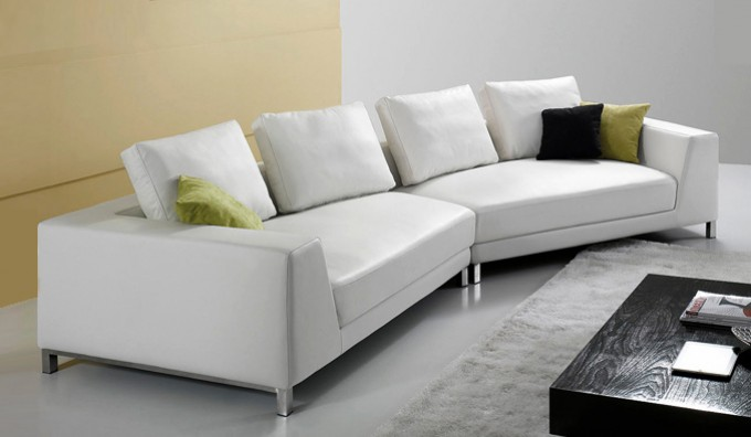 TikZ Leather Modular Sofa