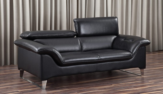 Visso Leather 2 Seater Sofa