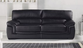 Bachelli 3 Seater Leather Sofa