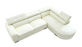 Carla Leather Corner Sofa