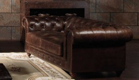 Chesterfield Vintage Leather - 2 Seater Sofa