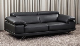 Cosma Leather 3 Seater Sofa