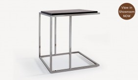 Covis Side Table - Dark Brown Oak