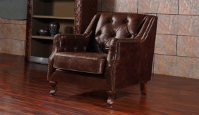 Dowding Vintage Leather - Armchair