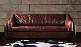 Hoxton Vintage Leather - 3 Seater Sofa