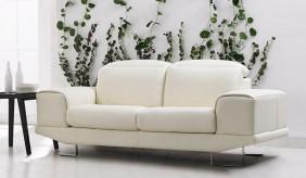 Nero 3 Seater Leather Sofa