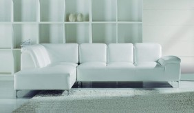 Santoro Leather Corner Sofa