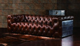 Soho Vintage Leather - 3 Seater Sofa