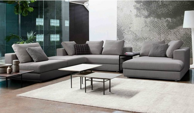 Dolcetta Modular Sofa With L And U Shape Options Modern