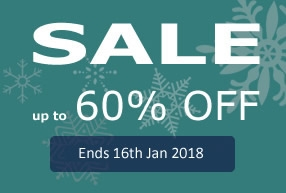 Sales Ends 16th JAN 2018