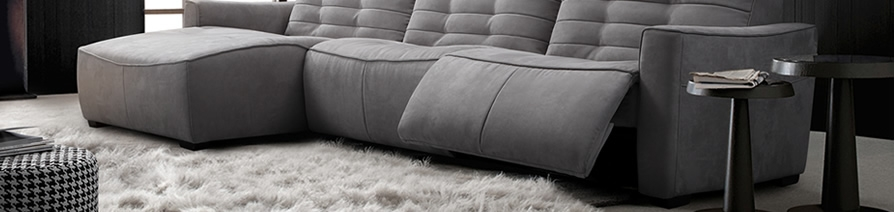 Fabric Recliner Sofas