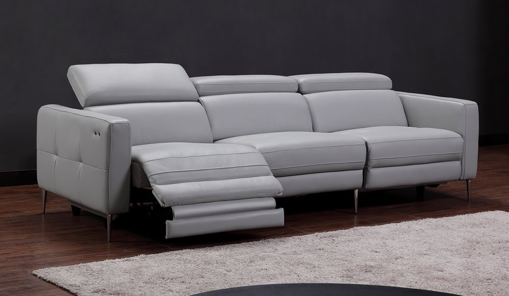 Certosa Electric Recliner 4 Seater Sofa Luxury Top Grain