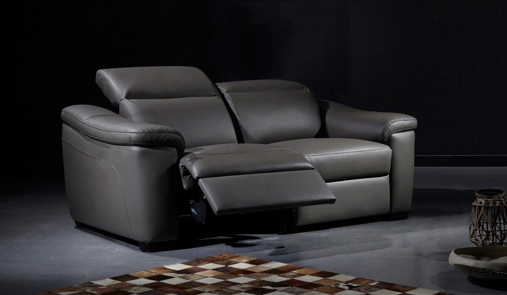 Forza 3 Seater Eclectric Recliner Sofa - top grain leather ...