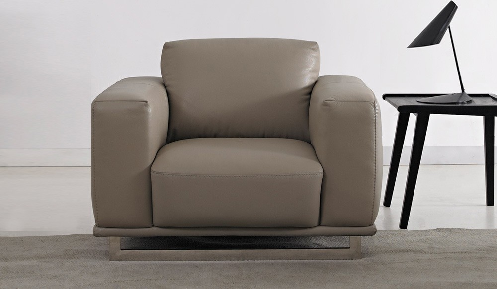 Mobo Leather Armchair Armchair Italian Delux Deco