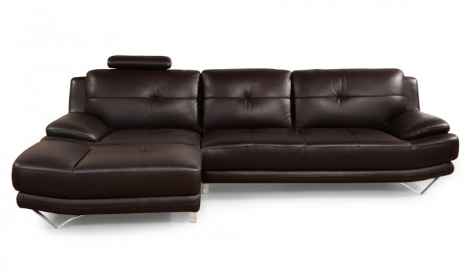 Rizzo Leather Corner Sofa