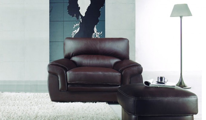 Bachelli Leather Armchair