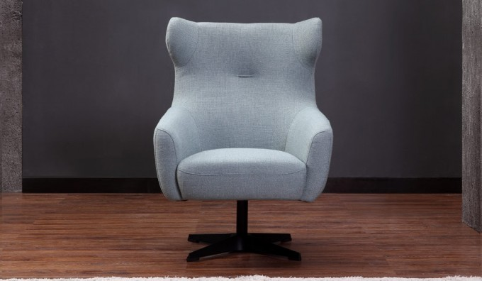 Modelo Fabric Swivel Chair