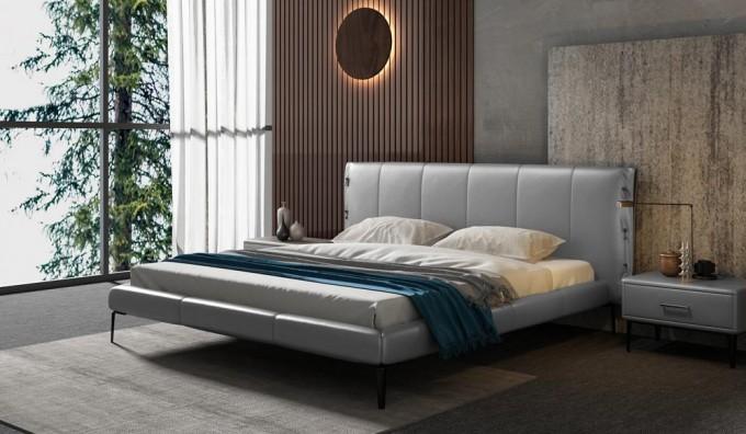 Cavani Leather Bed