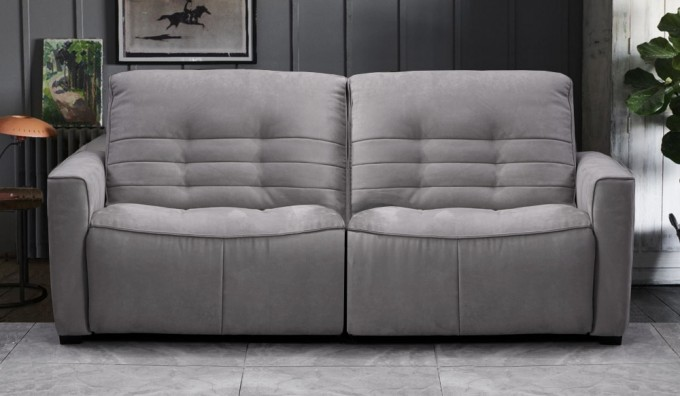 Rosetta 3 Seater Fabric Recliner Sofa