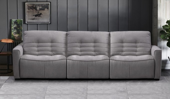 Rosetta 4 Seater Fabric Recliner Sofa