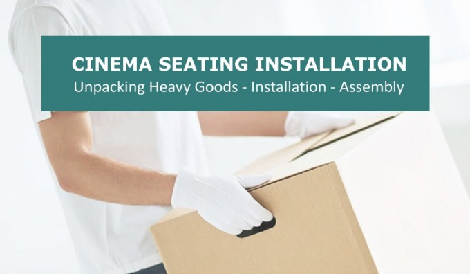 Cinema Seat Installation & Setup - 2 pc