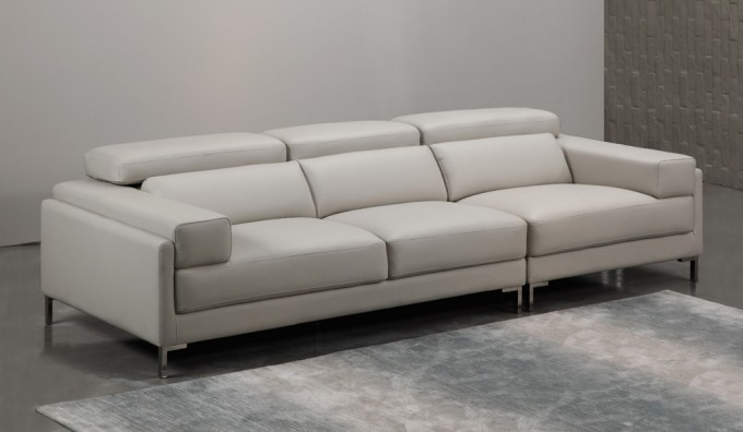 Clio Leather 4 Seater Sofa