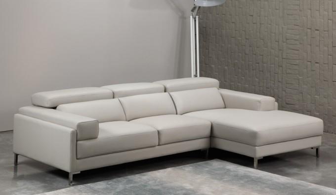 Clio Leather Corner Sofa