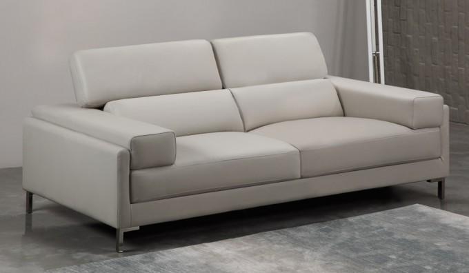 Clio Leather 3 Seater Sofa