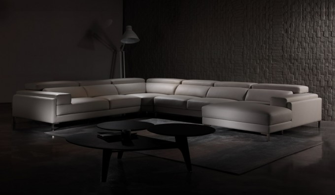 Clio U Shape Leather Sofa