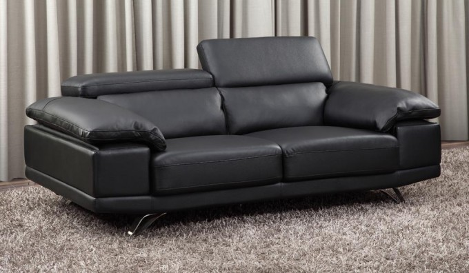 Cosma Leather 2 Seater Sofa