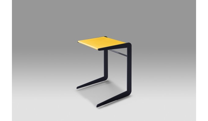 Elbow Overreach Side Table - Yellow