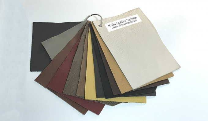 Haiku (Brand) Leather Samples