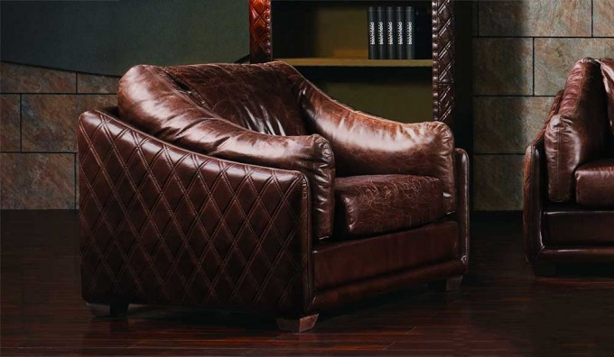 Hoxton Vintage Leather - Armchair