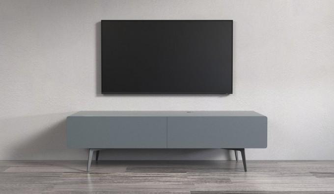 Ikon Matte Graphite STANDING Cabinet - 166cm