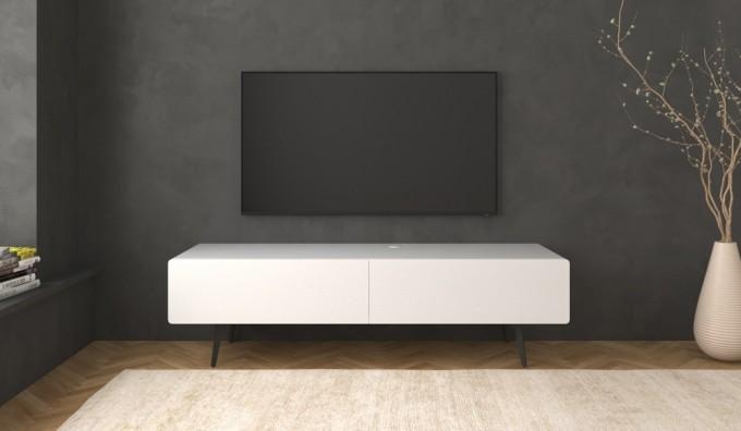 Ikon White STANDING Cabinet - 166cm