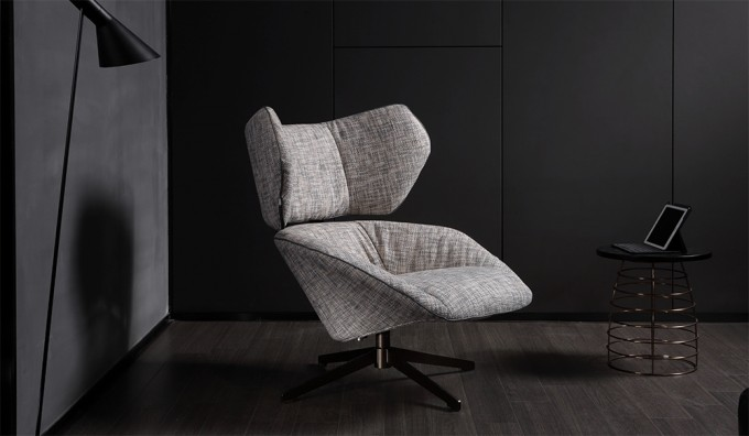 Delta Swivel Lounger Chair