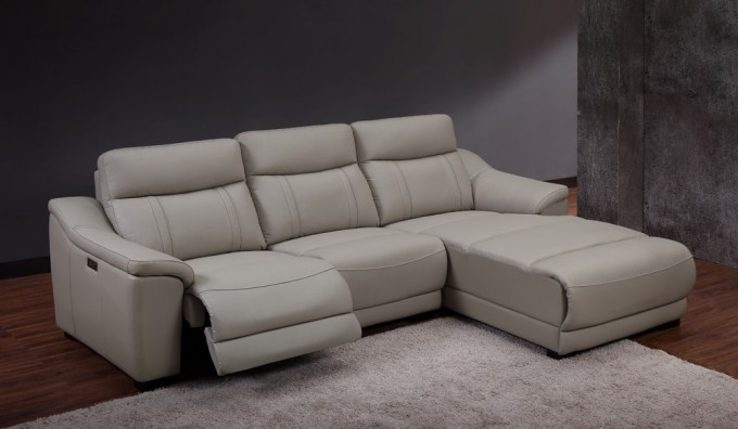 Fanelli Electric Recliner Corner Sofa